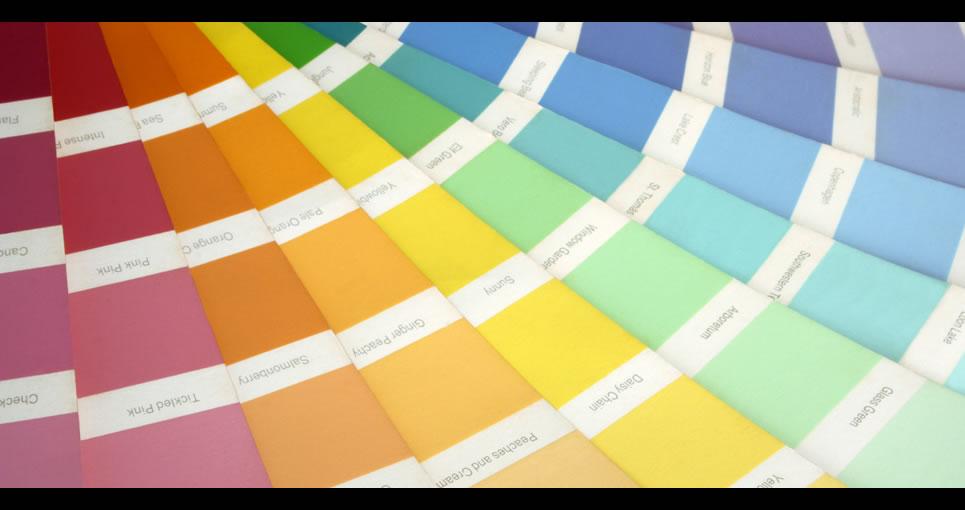 Палитра цветов краски для стен фото